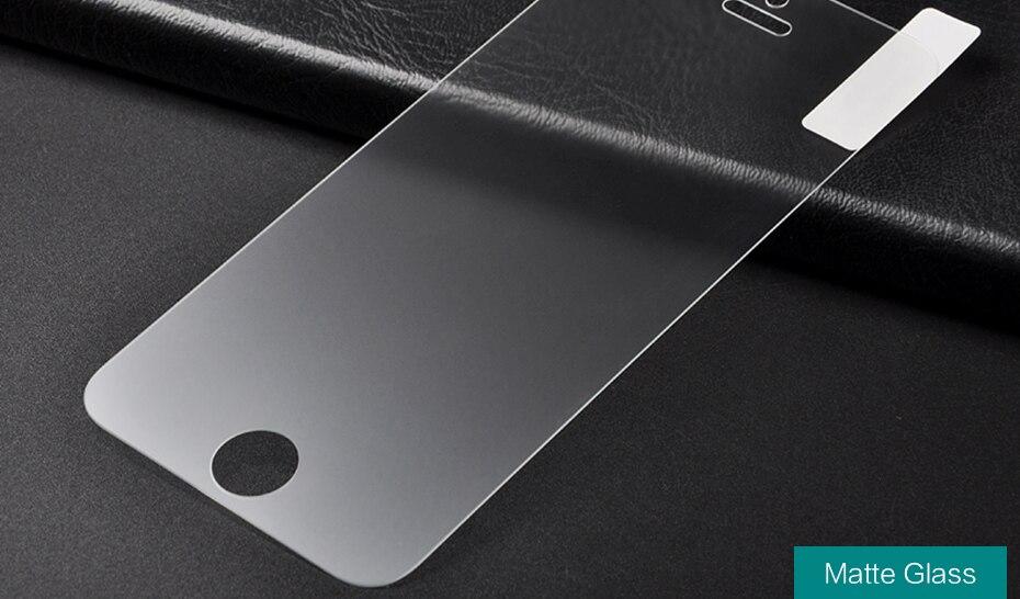 CHYI bez odcisków palców matowe szkło dla iphone 5s SE 5C ochraniacz ekranu oleofobowa powłoka 9 H dla iphone 7 8 plus xs Max XR szkło 34