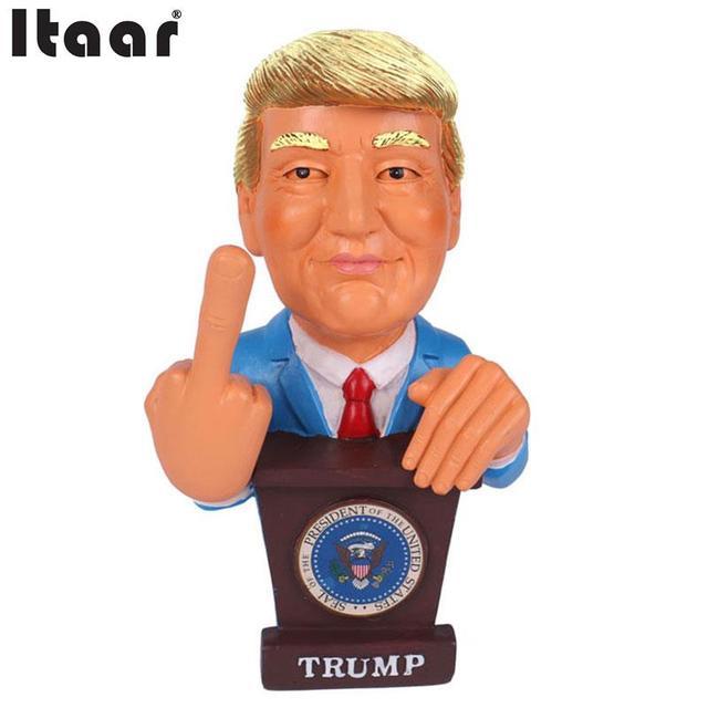 Дональд Трамп Средний Палец Пупс Промашка КЛИНТОН 2016 Выборов, в