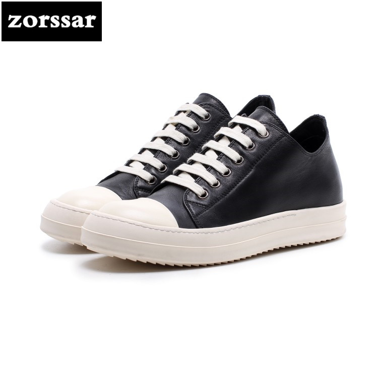 {Zorssar} 2018 New Fashion Genuine Leather Leisure lace up flat shoes Women sneakers Casual Comfortable Flats Loafers Female vicamelia 2017 fashion women casual shoes grey appliques women flat shoes comfortable women sneakers female footwear 067