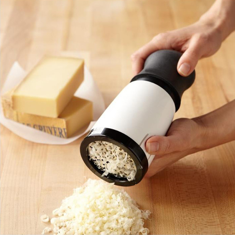 Cheese Grater Handheld Manual Cheese Mill Grinder High Quality Food Grade Portable Cheese Grater Slicer For Kitchen Tool