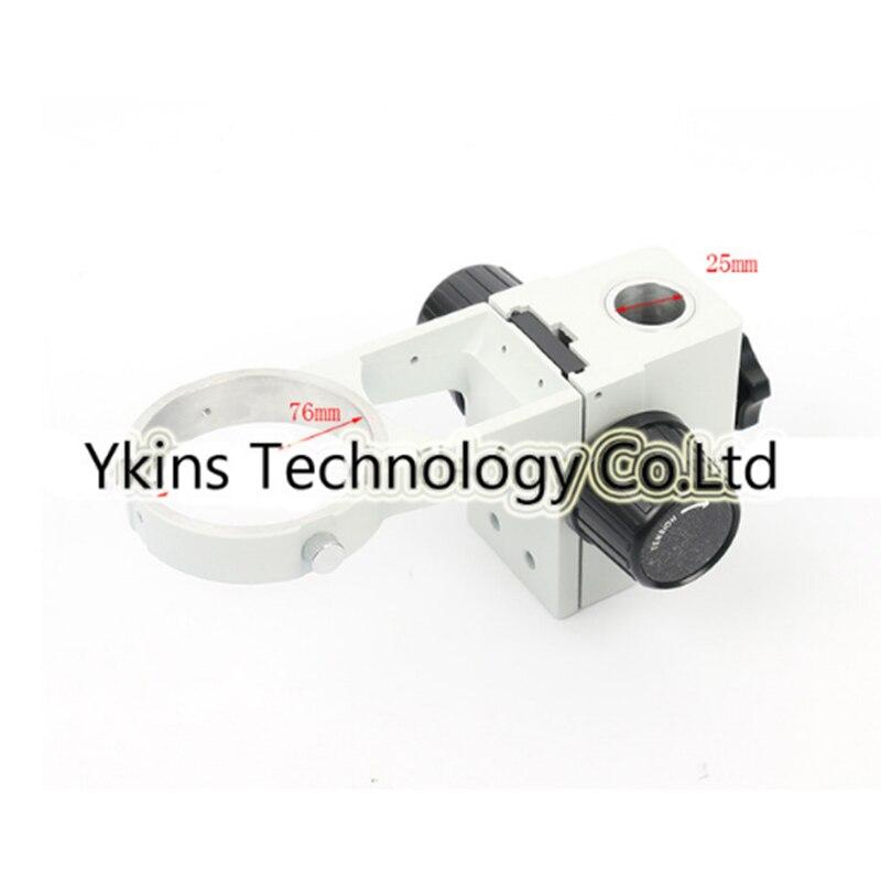25mm/35mm stereo zoom microscópio foco braço A1 76 milímetros anel suporte para indústria laboratório vista/ câmera microscópio binocular