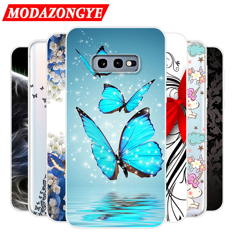 For <font><b>Samsung</b></font> Galaxy S10e Case Silicone TPU Protective Cute Cover Soft Phone Case For <font><b>Samsung</b></font> S10e S <font><b>10e</b></font> G970F G970 SM-M970F Case image