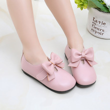 JGSHOWKITO Kids Shoes For Toddlers Girls Princess Children Leather Shoe