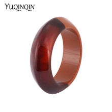 Vintage Acrylic Cuff Fashion Bracelets Bangles for Women 201