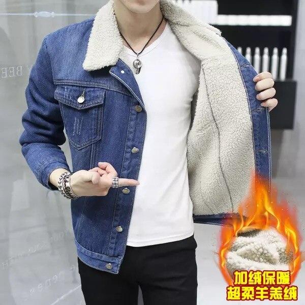 newest collection 9d22f 39842 I nuovi giovani uomini giacca di jeans maschile sui vestiti ...