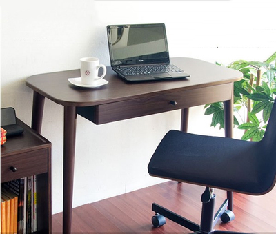 simple small apartment minimalist home desk wood computer 14931 | simple small apartment minimalist home desk wood computer single study bedroom custom table