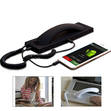 Portable Retro Fashion 3.5 mm Comfort Telephone receiver Cel