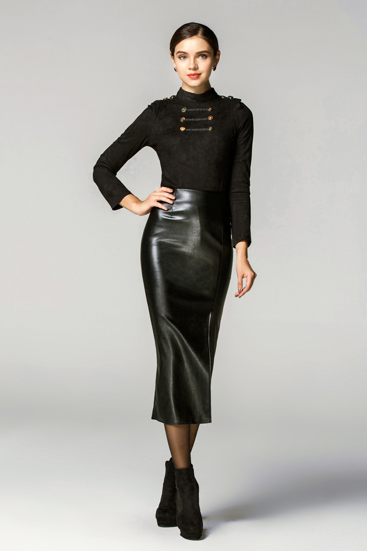Ladies Leather Skirts | Jill Dress