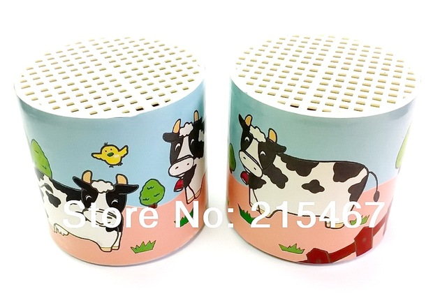 2pc Cow Moo Sound Voice Box Can Noise Maker Birthday Party Toy Favors Novelty Clown Gag Jokes Pinata Bag Filler Loot Gag