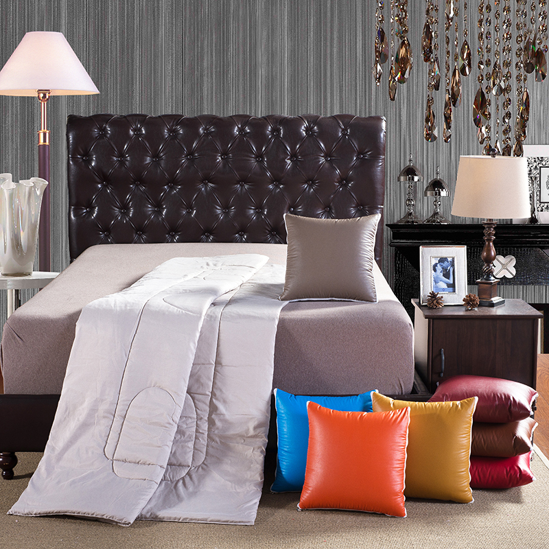 Pu Material Metal Texture Feel Comfortable The Quilt Is Grinding Wool Fabrics Soft Close