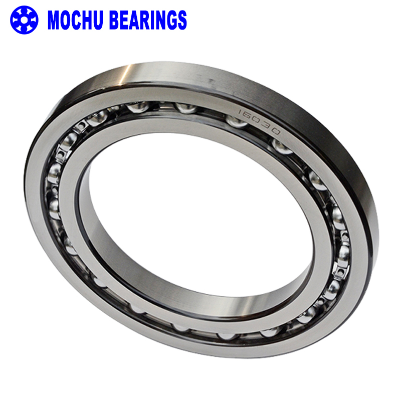 цены 1pcs Bearing 16030 7000130 150x225x24 MOCHU Open Deep Groove Ball Bearings Single Row Bearing High quality