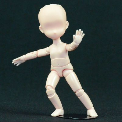 Q-version 11CM made in China painting art painting sketch comic illustrator joint mannequin doll head mold containing f stent new 2pcs female right left vivid foot mannequin jewerly display model art sketch