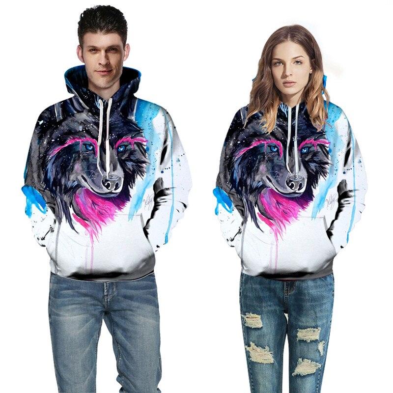 yufeida Hoodies Sweatshirts Men Women 3D Print Pullover Funny Rock Tracksuits Hooded Male Jackets Fashion Casual Outwear Winter