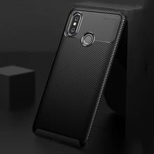 Ikrsses Case For Xiaomi Mi MAX 3 Case Luxury Carbon Fiber Ultra Thin Silicone Soft TPU Case for Xiaomi mi Max 3 Phone tz06 ostrich foot pattern genuine leather half case for xiaomi mi max 3 7 0 phone case for xiaomi mi max 3 back case