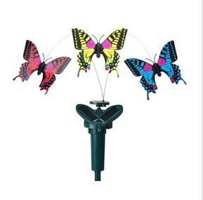 2013 New Arrival Solar Toys Solar powered  Butterfly Diy Assembling Puzzle Model Toy Novelty & Gag Toys Free Shipping