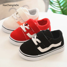New Spring Canvas Children Shoes Breathable Sports Single Shoes
