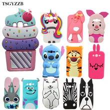 3D Alice Cat Unicorn Phone Silicone Soft Case Cover For Samsung Galaxy Grand Duos i9082 Grand Neo i9060 i9062 Plus i9060i Cases ic protective pu leather cover plastic back case stand for samsung galaxy grand duos i9082 black