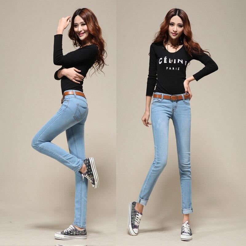 nuevas de mujeres vaqueros vaqueros jeans talle 2014 Pantalones las NZK037 en de denim alto flaco estiran pantalones mujeres de La de ropa en los 4YxBAqdw0