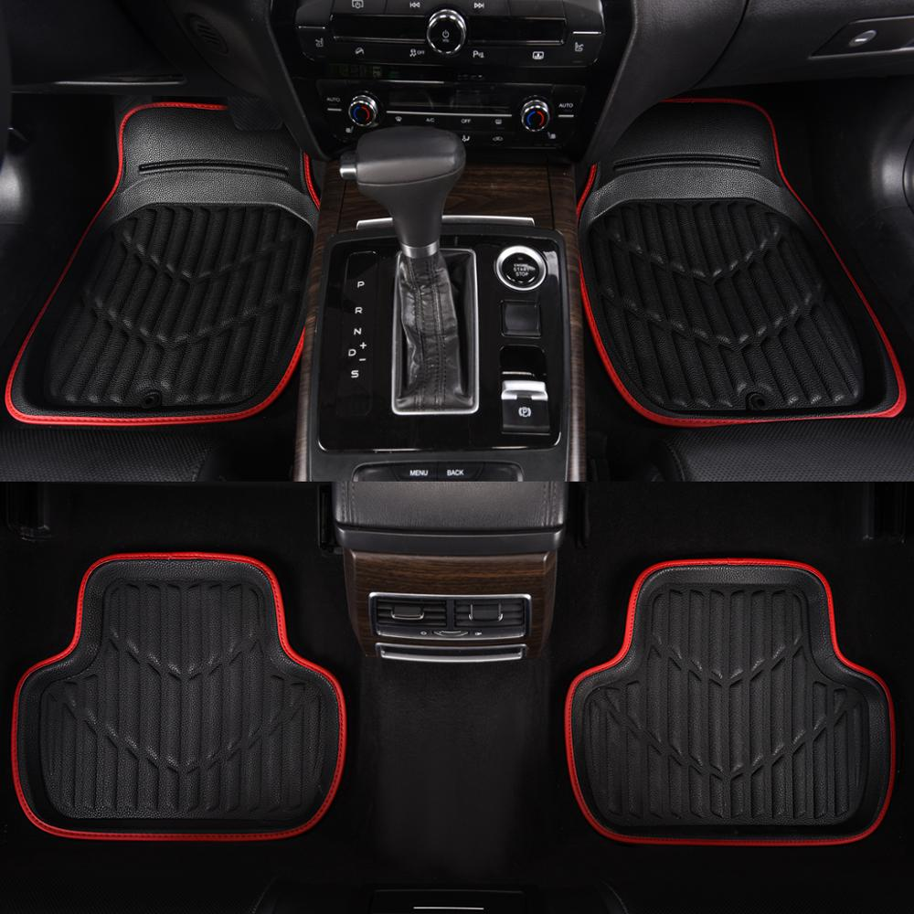 Automobiles & Motorcycles Universal Car Floor Mats Gray Car Interior Accessories Towel Material Floor Mats Car-styling Protector For Lada Special Summer Sale