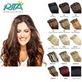 19 Color 70g Clip In Remy Human Hair Extensions Full Head Natural Human Hair Extension With Clips Clip In Human Hair Extensions