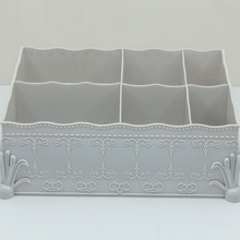 Plastic Cosmetic Drawer Makeup Organizer Storage Box Container Nail Casket Holder Desktop Sundry Case