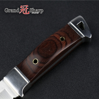 Utility Chef knife Kitchen Knives Tactical hunting knife outdoor camping survival folding knives Defense Fishing Hiking Tools 6