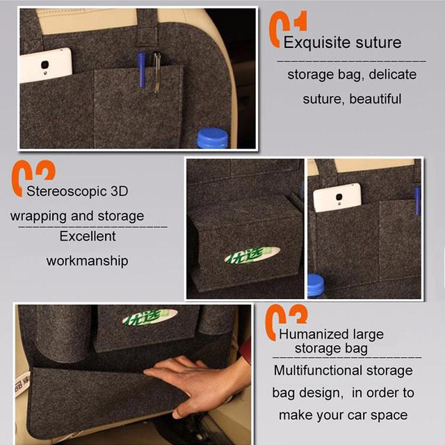 Universal Back Seat Organizer Storage Bags Baby Child Safety Car Steat Back Bag Shopping cart seat Shopping Cart Covers