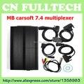(3 PÇS/LOTE) alta Qualidade MB Carsoft 7.4 Multiplexer Leia Apagar Todos Os Códigos de Falha Ler Informações Ecu por DHL Frete Grátis