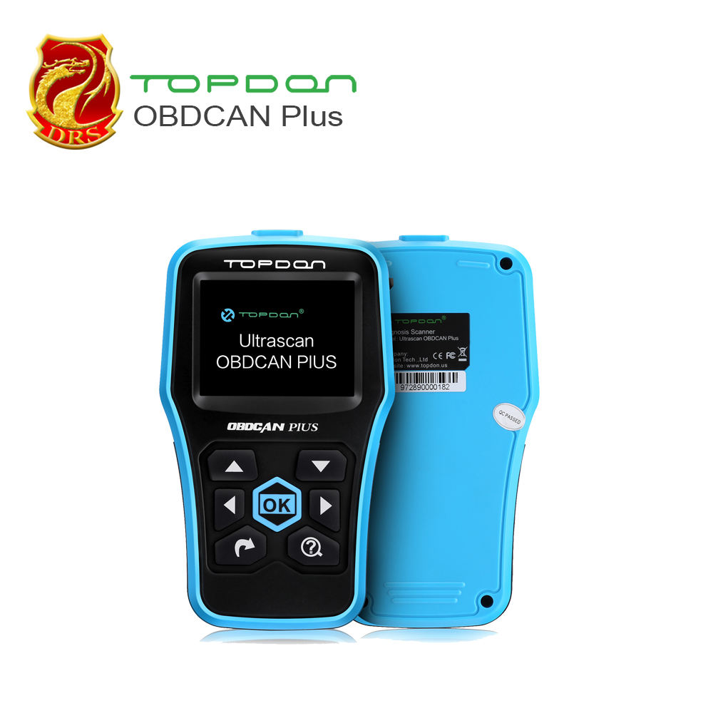 Topdon OBD2 Scanner OBDII Scanner Auto Diagnostic Scanner for Reading and Clearing Vehicle Trouble Codes (Plus:I/M Readiness) e readiness assessment
