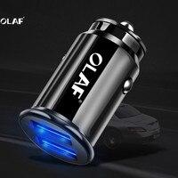 OLAF-cargador USB de coche para Xiaomi mi a2, adaptador de teléfono móvil con 2 puertos USB 3.4A para Samsung a70 S8