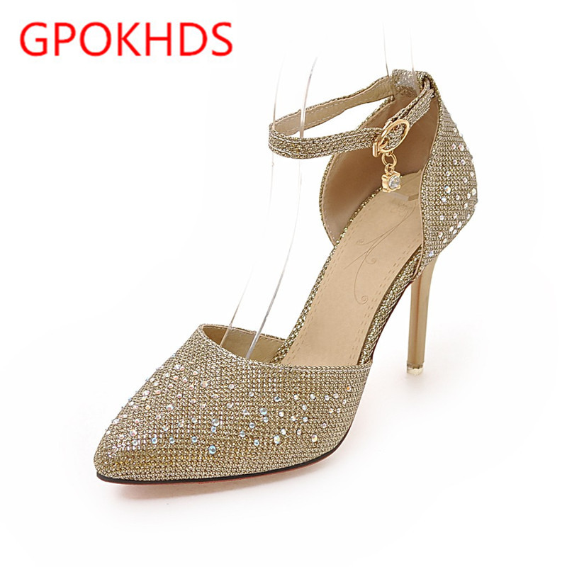 Popular Gold High Heel Pumps-Buy Cheap Gold High Heel Pumps lots ...