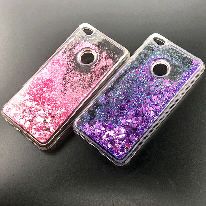 Phone Bags & Cases Shop For Cheap Bling Phone Case Huawei P8 P9 Lite 2017 Honor 8 Lite Dynamic Liquid Quicksand Fitted Bumper Cover Pra-lx1 Pra-la1 Pra-tl10 Funda Cellphones & Telecommunications