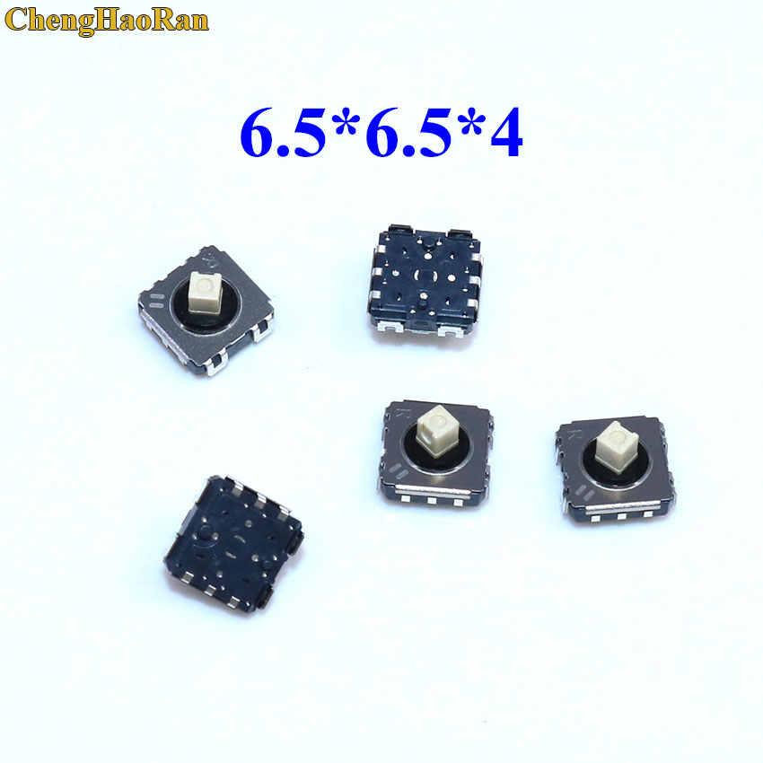Chenghaoran 2 Pcs SKRVABE010 Multi-Cara untuk 6.5*6.5*4 Lima Arah Patch Switch dengan tekan