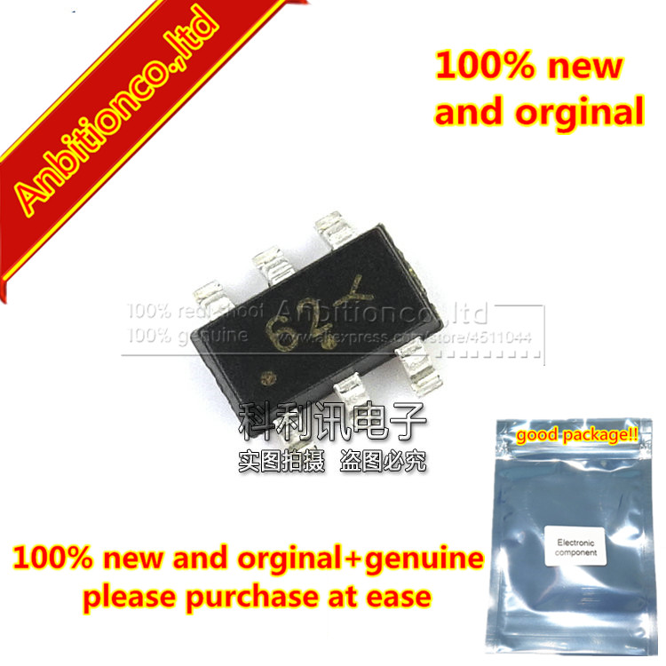 100pcs 100% New And Orginal NUP2201MR6T1G ON SOT23-6 Silk-screen 62x Low Capacitance TSOP-6 Diode-TVS Array In Stock