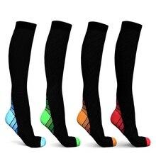 Unisex Compression Socks (20-30 mmhg) Best Running Breathable Long Socks