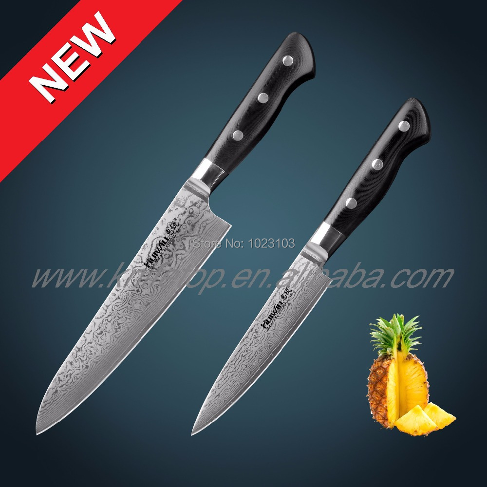 Uncategorized High Quality Kitchen Knives high quality japanese knife set promotion shop for top 2pcs takefu vg10 damascus steel chef kitchen utility knives slicing knives