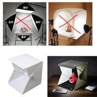 Soft box mini studio photo Camera Photography Lighting Tent Kit Mini Backdrop Box S size for Studio LED Light Photo