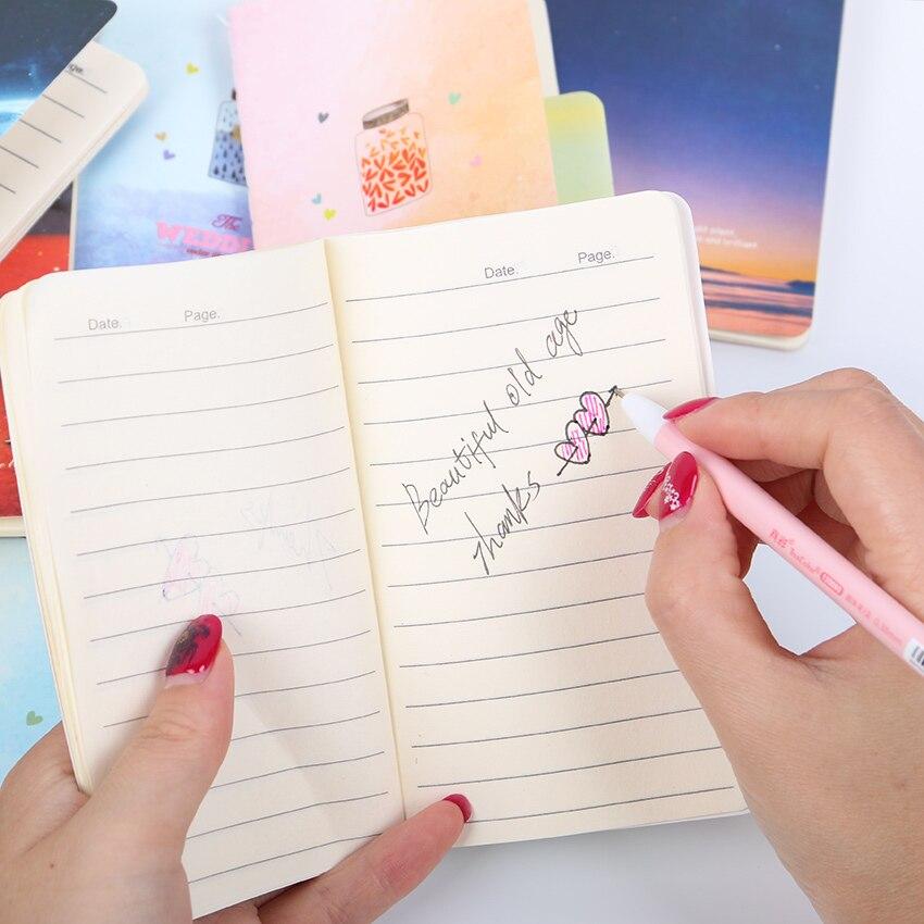 из 2 предметов мини-милый новинка луна звезда вселенной тетрадь блокнот дневник написания бумага меморандум школьные принадлежности