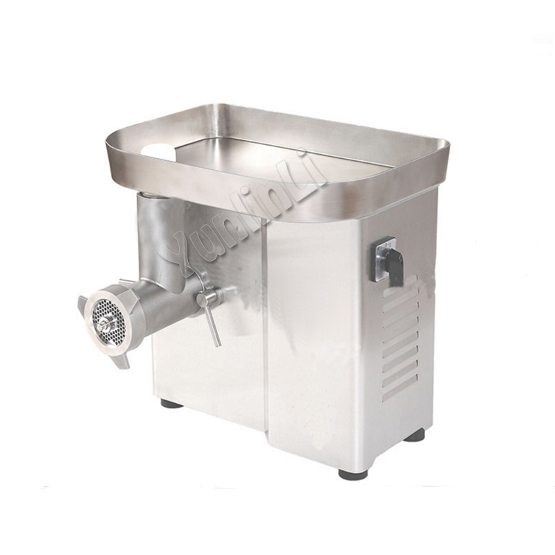 DM-22 Stainless Steel Meat Grinder Commercial Meat Slicer Small Meat Cutting Machine Meat Chopper commercial meat sawing machine stainless steel frozen meat cutting machine high efficient meat slicer j 310
