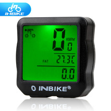 INBIKE Wired Bike Computer Waterproof Backlight Bicycle Digital Speedometer Cycle Velo Odometer 528