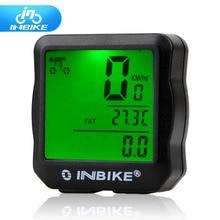 INBIKE Wired Bike Computer Waterproof Backlight Bicycle Computer Digital Speedometer Cycle Velo Computer Odometer 528 computer