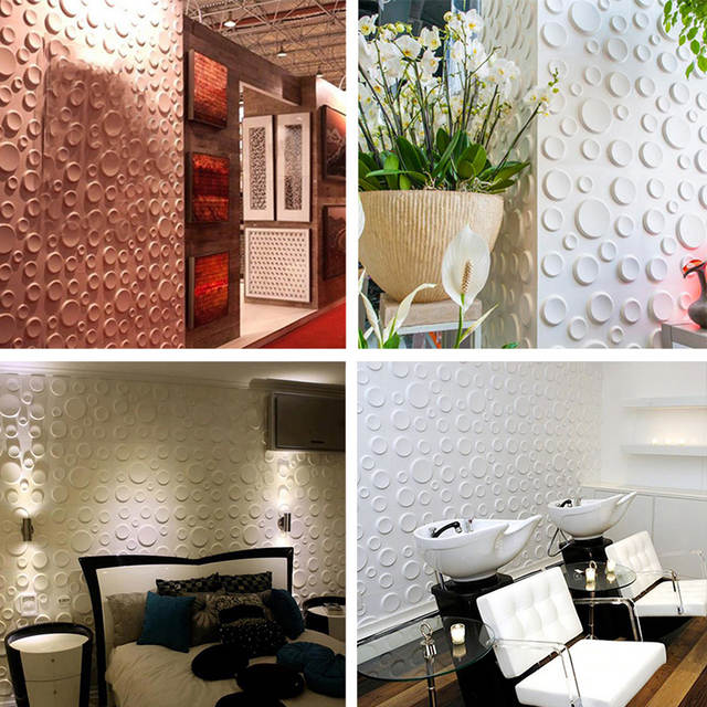 30 30cm Pe Foam 3d Backdrop Wall Sticker Home Furniture Hall Store Decorative Wallpaper Diy Bubble Mural Wallpaper Stickers