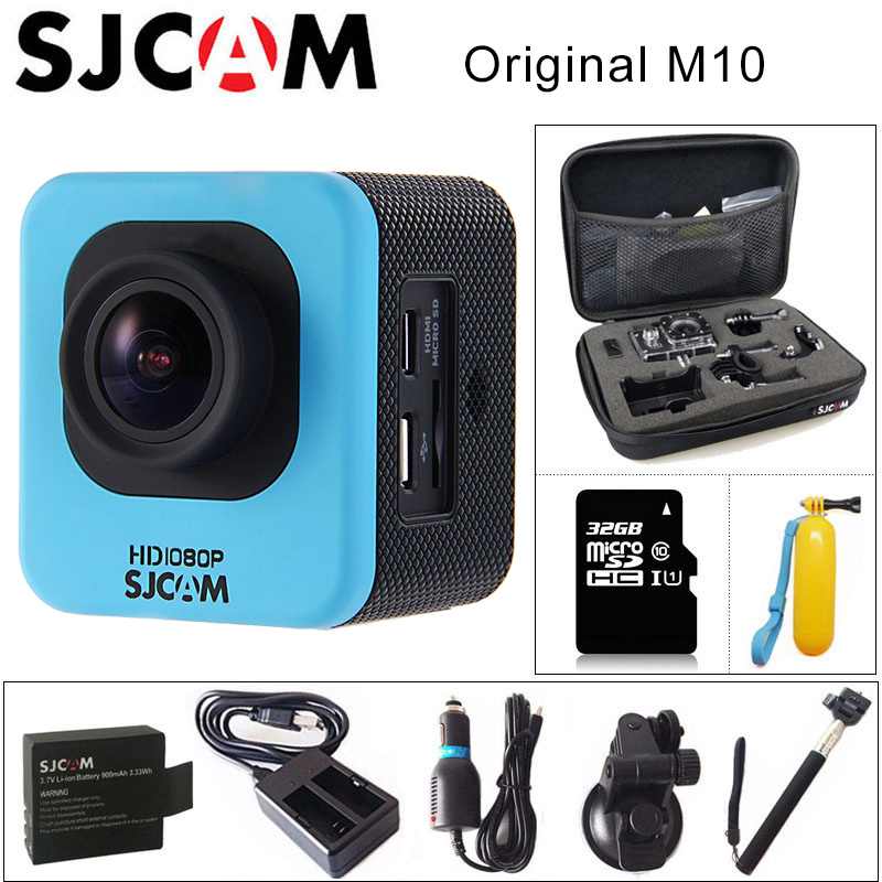цена на Original SJCAM M10 Sports Action Camera Full HD 1080P 170 degrees Mini Diving 30M Waterproof Camera mini Camcorder M10 Sport DV