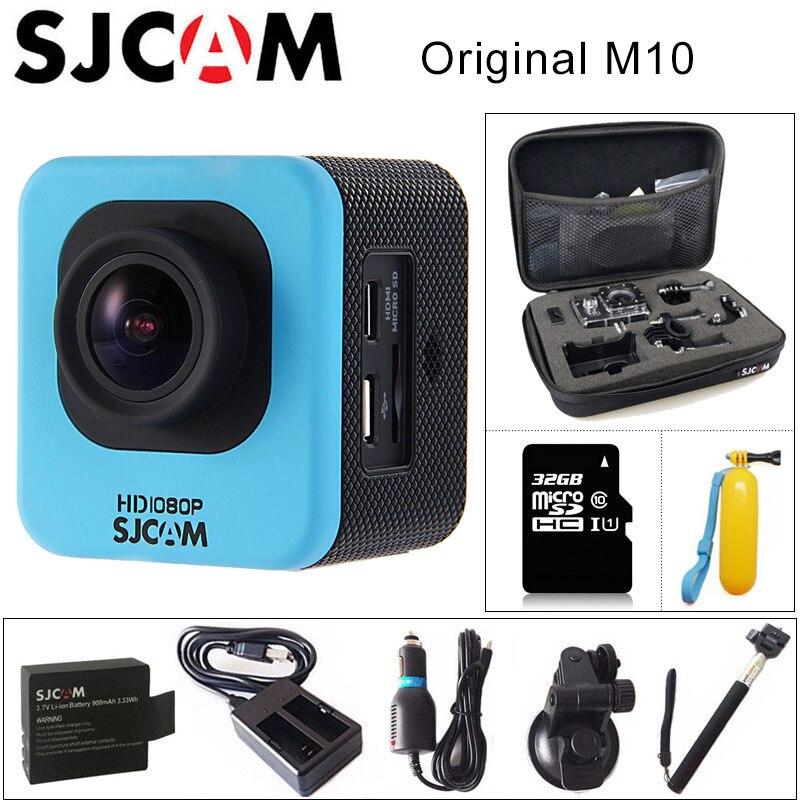 Original SJCAM M10 Sport Action caméra Full HD 1080 P 170 degrés Mini plongée 30 M étanche caméra mini caméscope M10 Sport DV