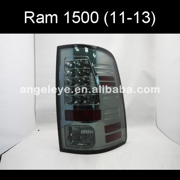 Dodge Ram 1500 2011 lampe arrière | Pour Dodge Ram 2013-ans, fumée noir, couleur SN
