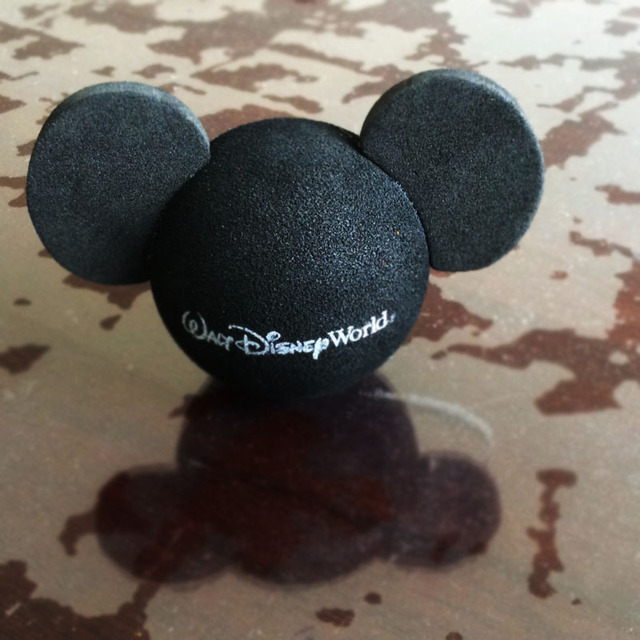 Black Mickey Head DS World Minnie Little Cute Adorable Cartoon Doll Antenna Balls EVA Aerial Toppers Decoration Roof Ornament