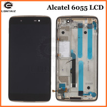For Alcatel Idol 4 OT6055 6055K 6055Y 6055P 6055 Touch Screen Digitizer LCD Display Assembly with Frame стоимость