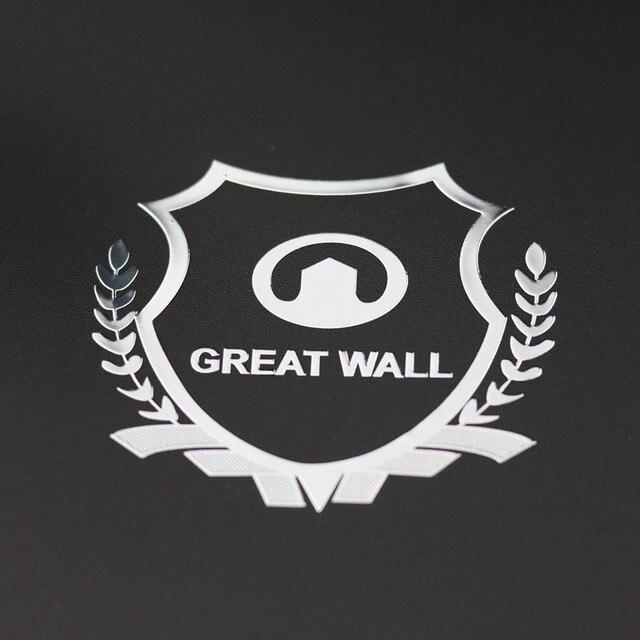 Excellent 3d metal car sticker emblem badge case for great wall haval hover h3 h5 h6