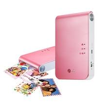 Портативный фотопринтер PD239 мобильный мини телефон с bluetooth беспроводная камера для Портативный карман печатная машина, цветной принтер