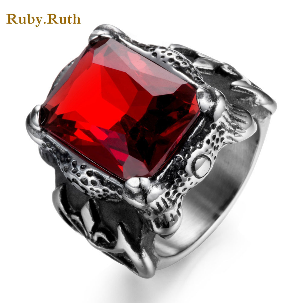 Online Get Cheap Mens Ruby Ring Aliexpresscom Alibaba Group